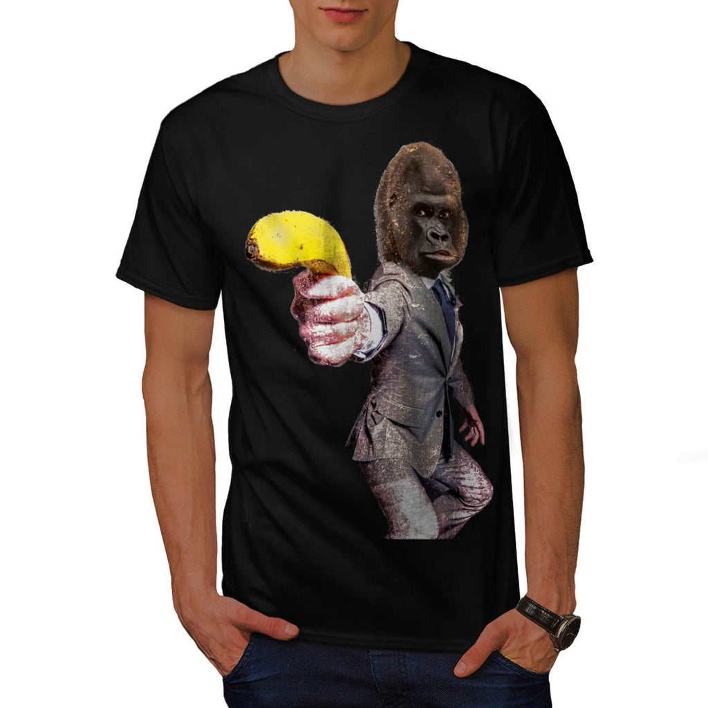 Funny Gorilla Suit Mens T-Shirt