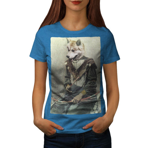 Animal Dog Akita Inu Womens T-Shirt