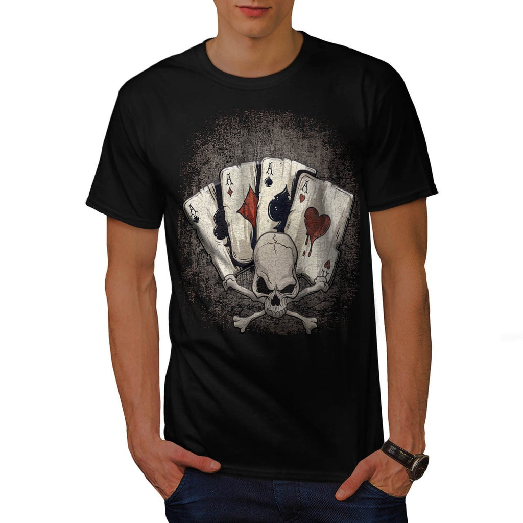 Ace Playing Cards Mens T-Shirt ... eb37fdf2f