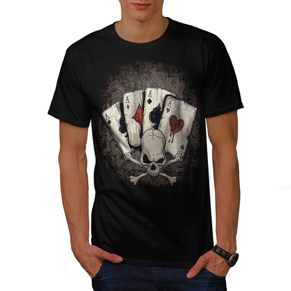 Ace Playing Cards Mens T-Shirt