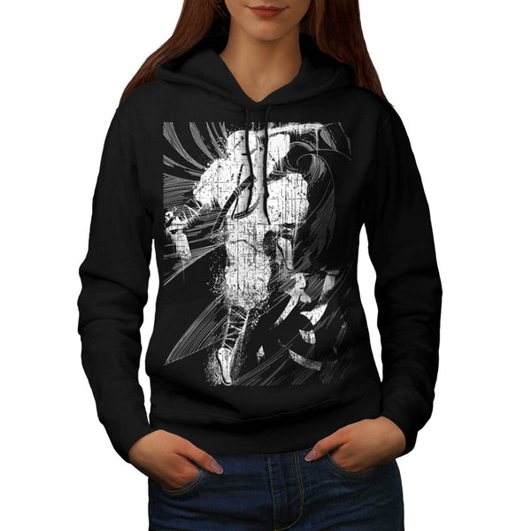 Asian Ninja Warrior Womens Hoodie
