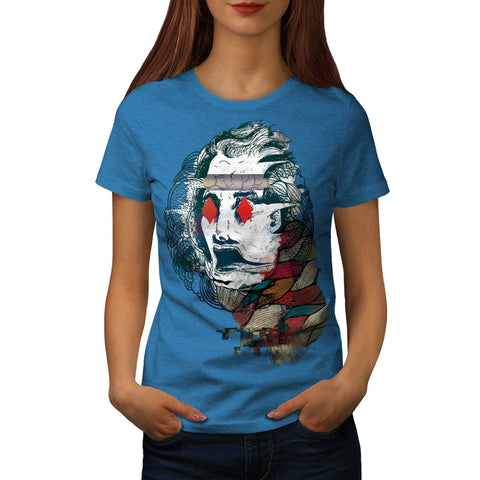 Diamond Eye Face Vibe Womens T-Shirt