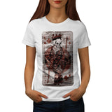 Death King Playing Womens T-Shirt