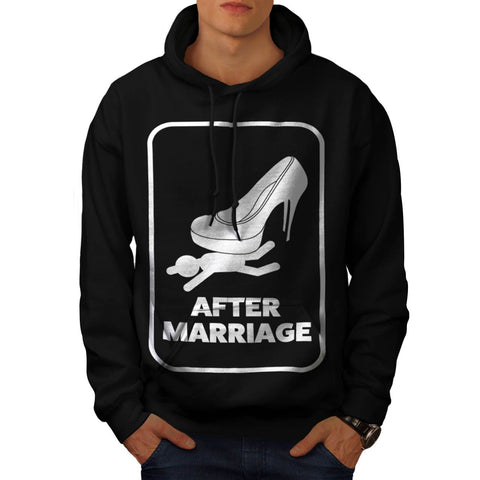 After Marriage Funny Mens Hoodie
