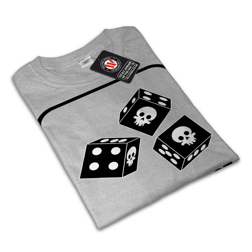 Life Is A Dice Game Womens T-Shirt
