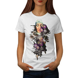 Mother Nature Flower Womens T-Shirt