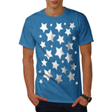 Multiple Star Effect Mens T-Shirt