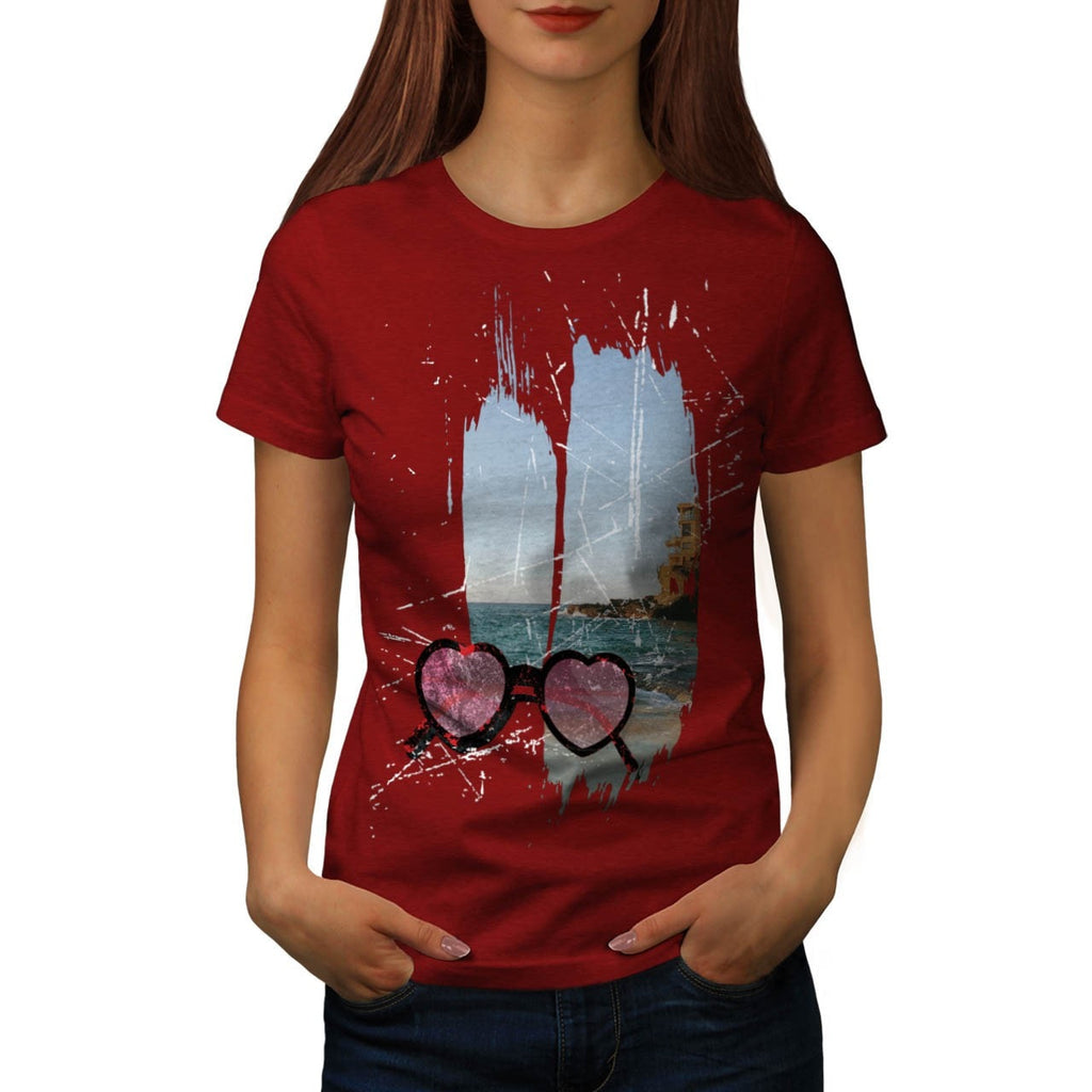 Amazing Summer Love Womens T-Shirt
