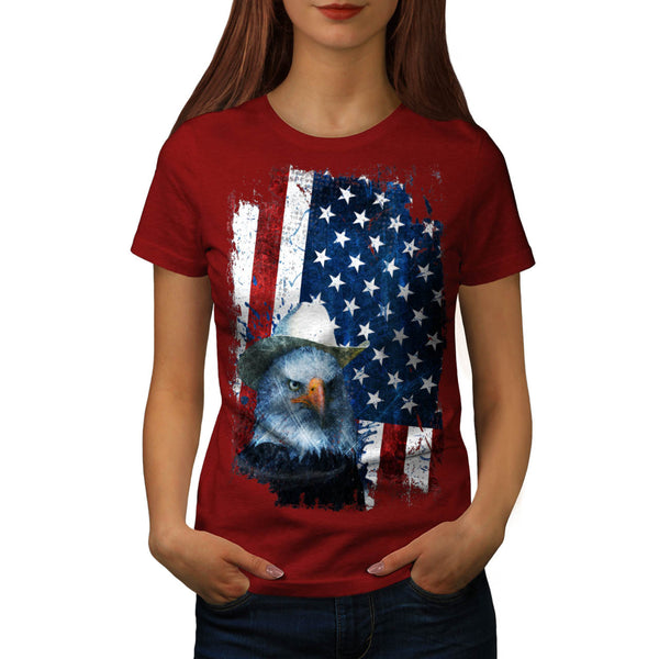 USA National Symbol Womens T-Shirt