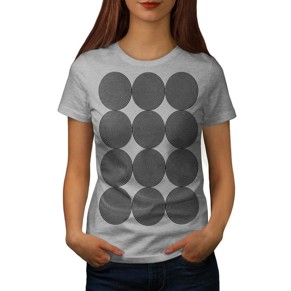 Optical Hypnosis Cool Womens T-Shirt