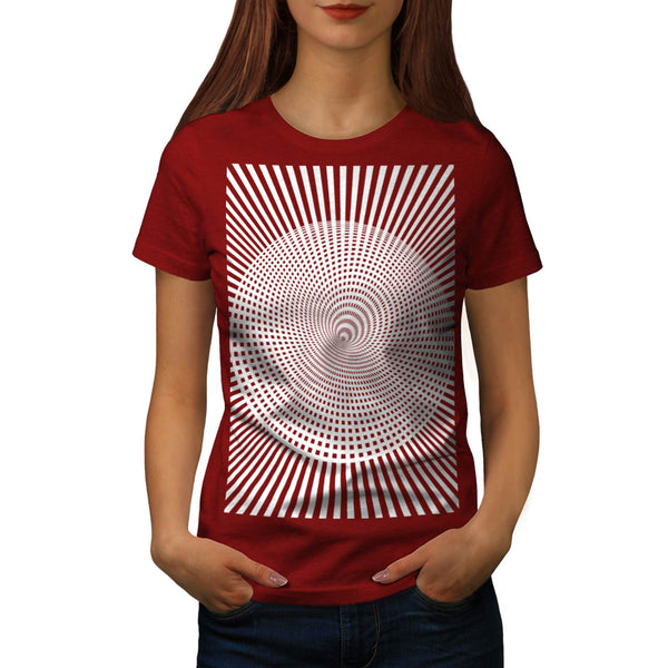 Visual Hallucination Womens T-Shirt
