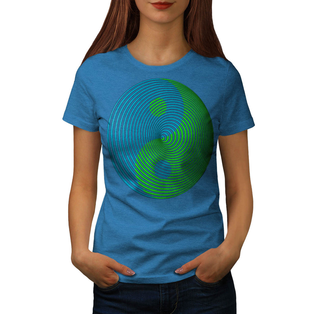 Visual Confusion Cool Womens T-Shirt