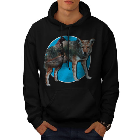 Animal Nature Forest Mens Hoodie