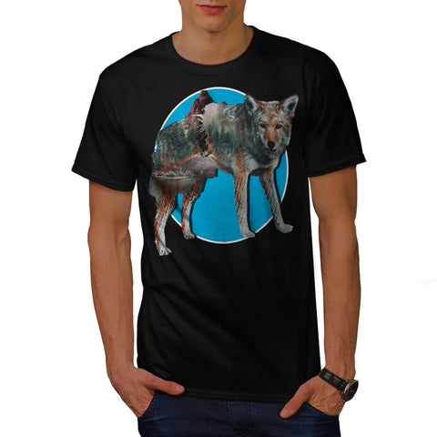 Animal Nature Forest Mens T-Shirt