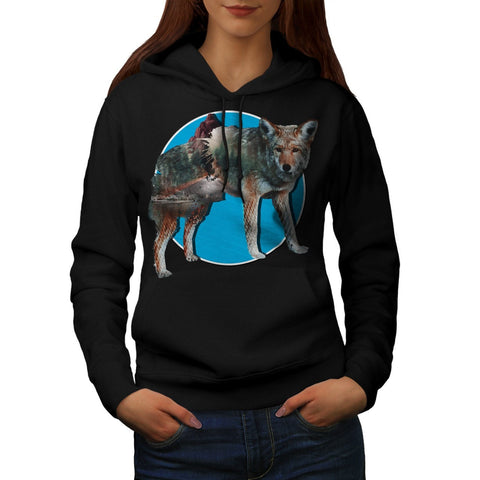 Animal Nature Forest Womens Hoodie