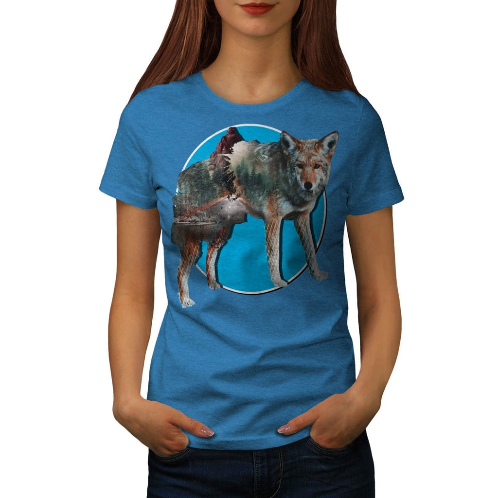 Animal Nature Forest Womens T-Shirt