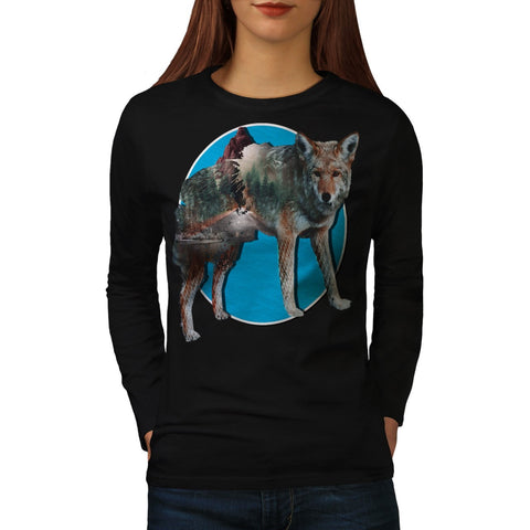 Animal Nature Forest Womens Long Sleeve T-Shirt