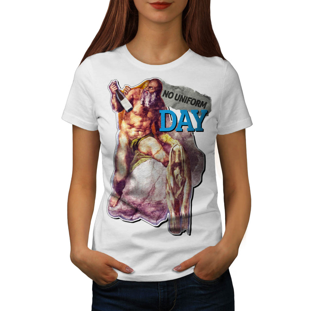 Epic Crazy Nude Beard Womens T-Shirt