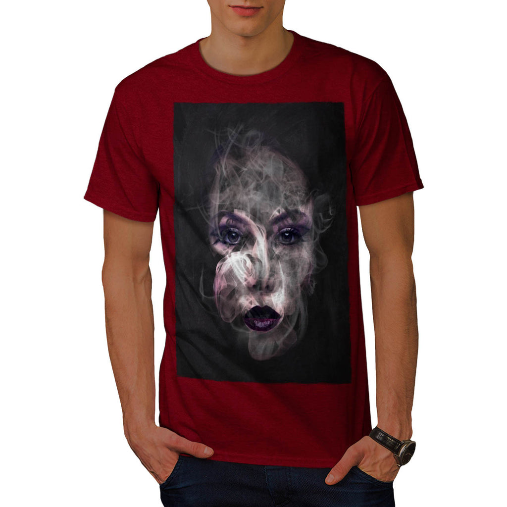 Smoke Make Up Pretty Mens T-Shirt