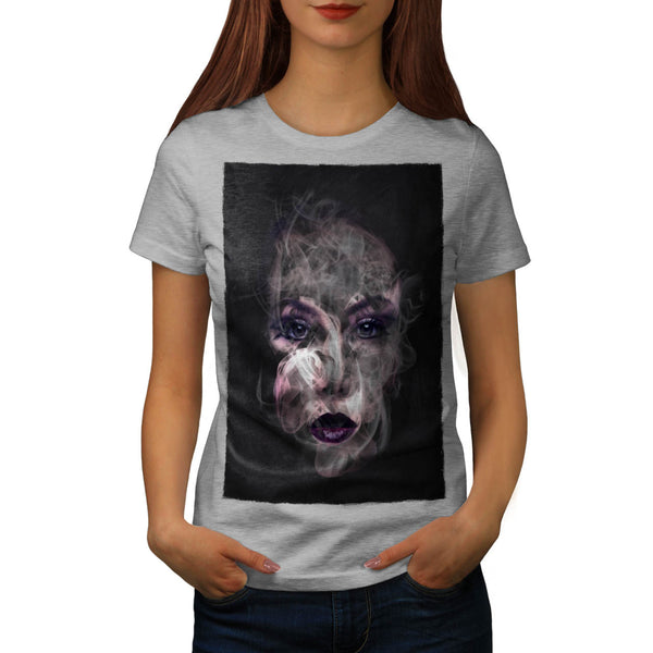 Smoke Make Up Pretty Womens T-Shirt