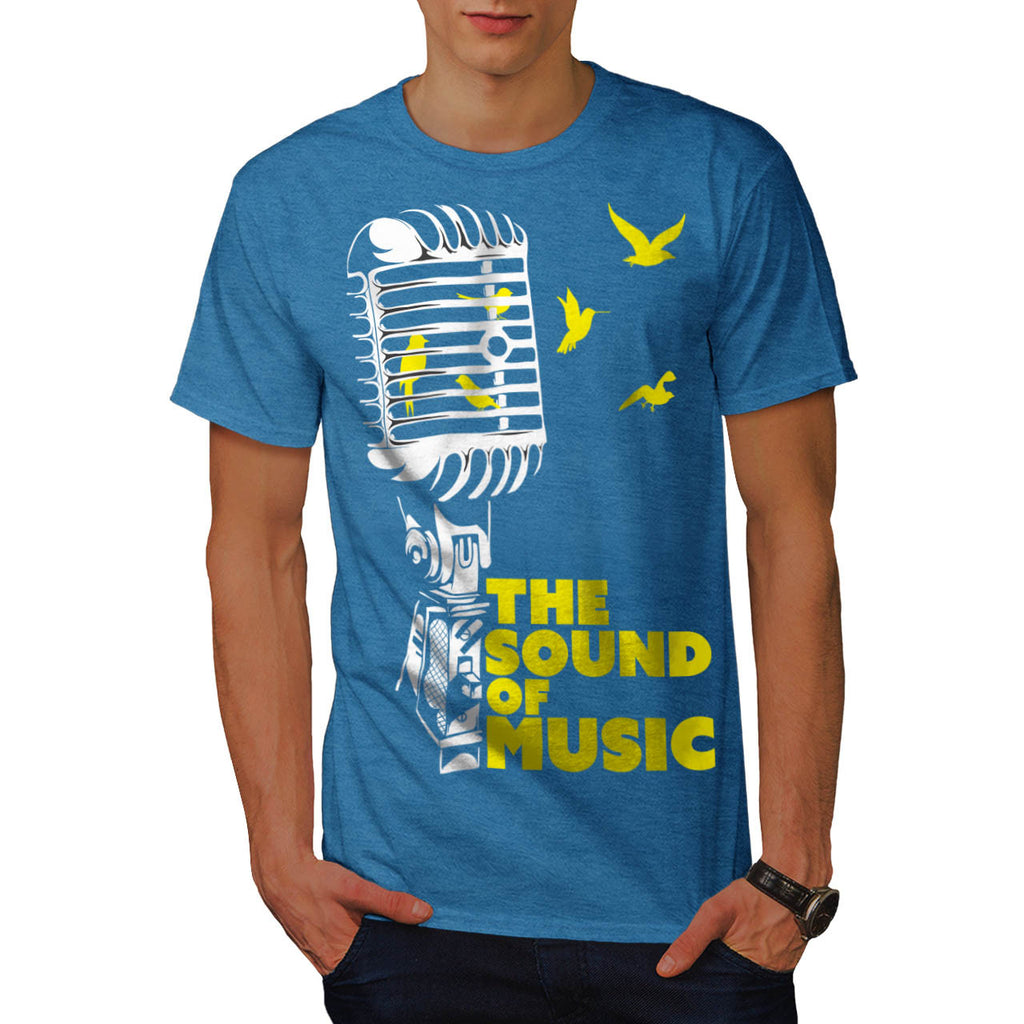 Sound Of Music Sing Mens T-Shirt