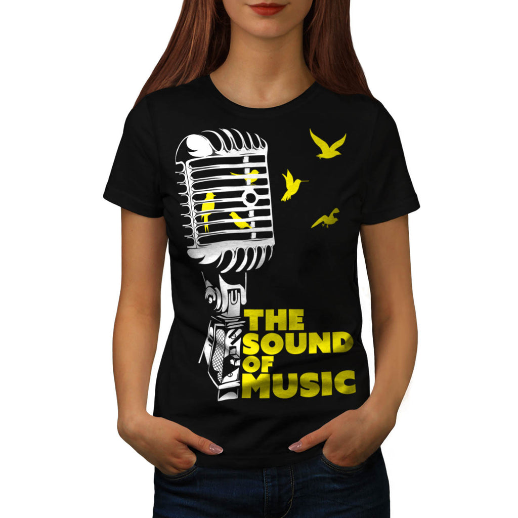 Sound Of Music Sing Womens T-Shirt