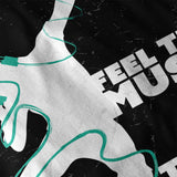Feel The Music Beat Womens T-Shirt