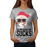 Season That Sucks Fun Womens T-Shirt