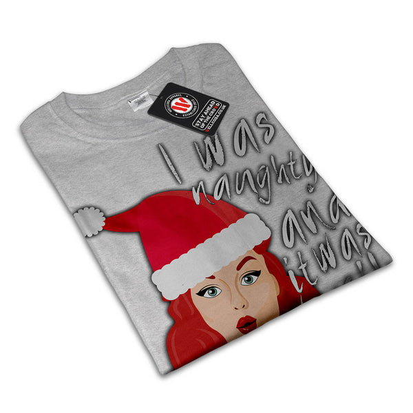 Naughty Christmas Fun Womens T-Shirt