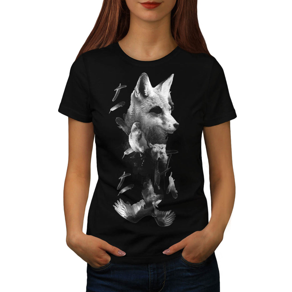 Eagle Bird Animals Womens T-Shirt