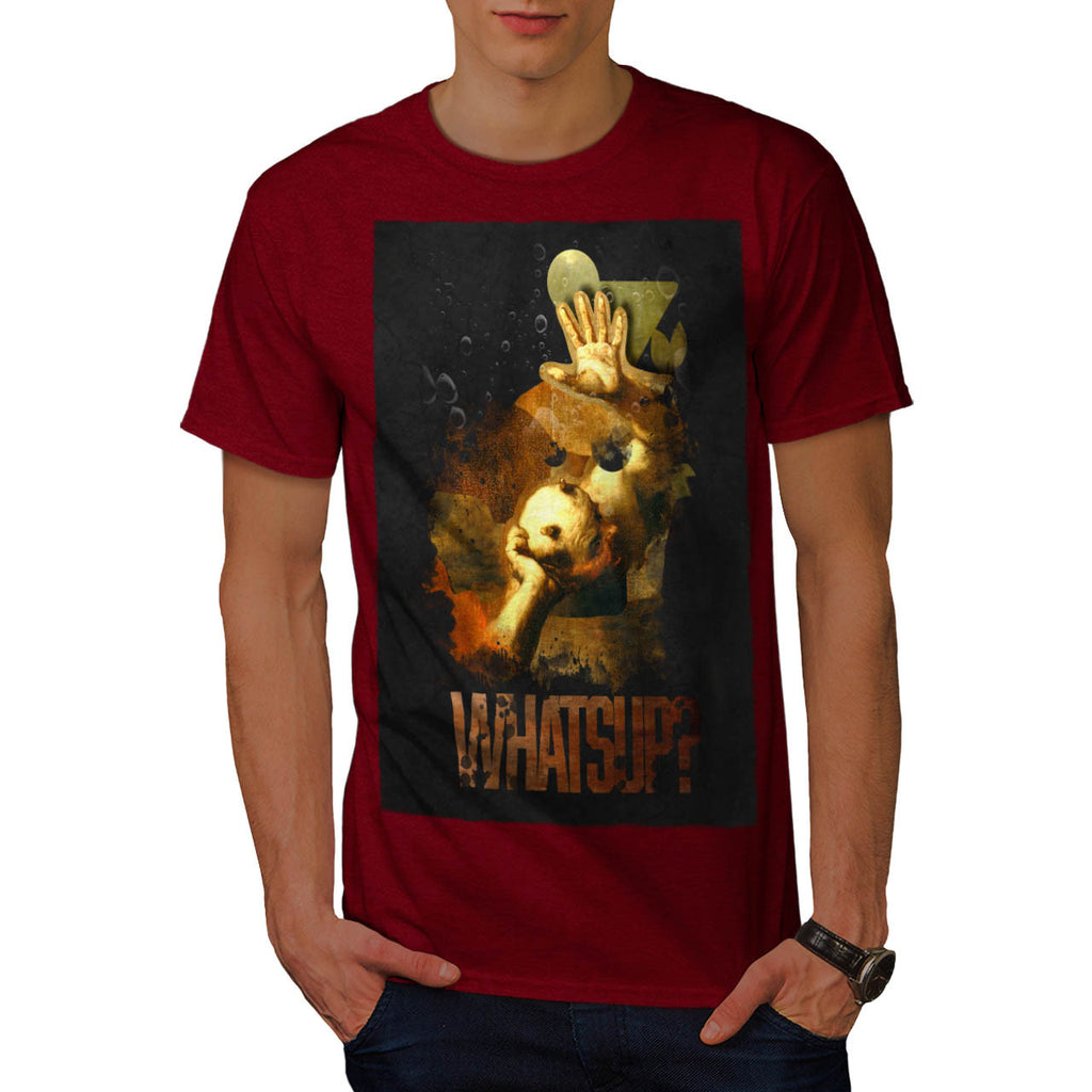 Whats Up Devil Lair Mens T-Shirt