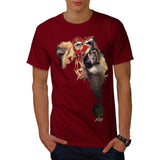 Lion King of Africa Mens T-Shirt