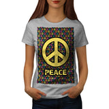 Spread Peace Not War Womens T-Shirt