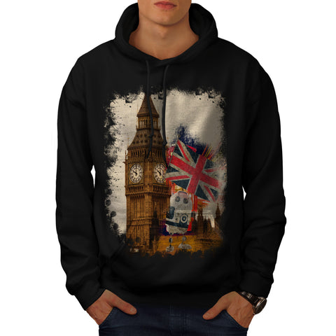 London City England Mens Hoodie