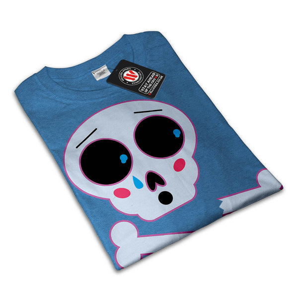Skull Sugar Head Womens T-Shirt