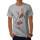 Creepy Abstract Face Mens T-Shirt
