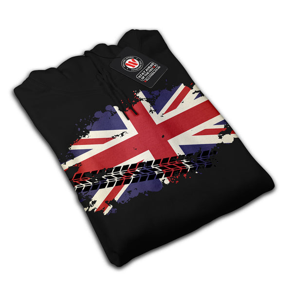 Union Jack UK Flag Womens Hoodie