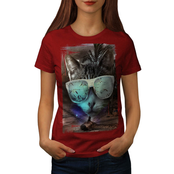 Vintage Apparel Army Womens T-Shirt