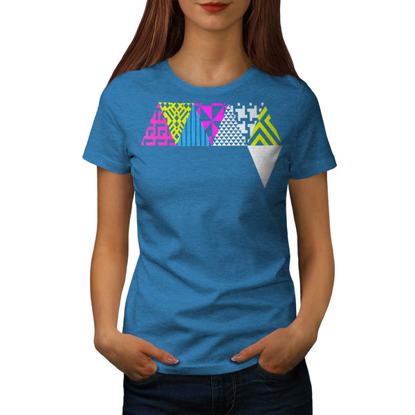 Crazy Aztec Colour Fun Womens T-Shirt