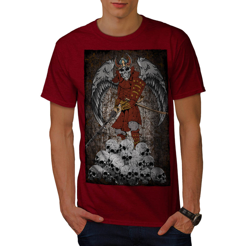 Tomb Stone Scary King Mens T-Shirt