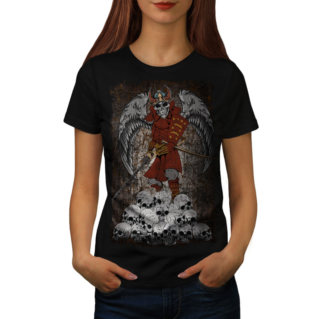 Tomb Stone Scary King Womens T-Shirt