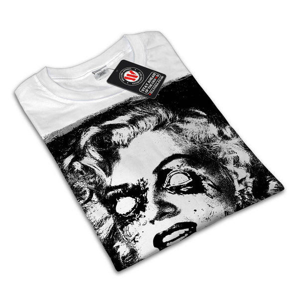 Marilyn Monroe Horror Womens T-Shirt