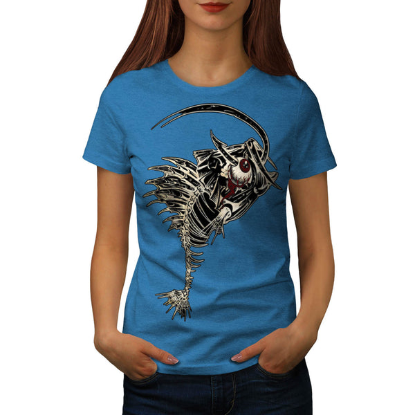 Monster Fishing Bait Womens T-Shirt