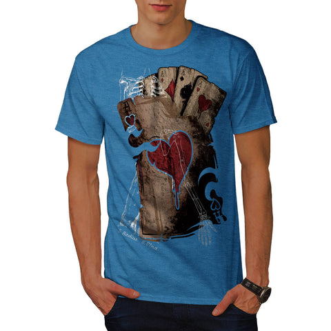Gambler Death Card Mens T-Shirt