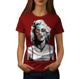 Marilyn Monroe Face Womens T-Shirt