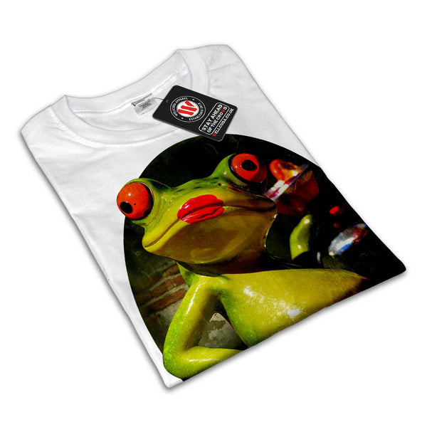 Glamour Frog Smoke Womens T-Shirt