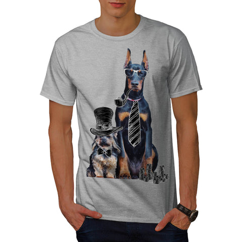 Swag Funny Party Dog Mens T-Shirt