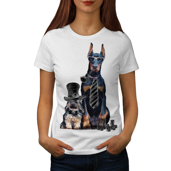 Swag Funny Party Dog Womens T-Shirt
