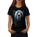 Grizzly Bear Confused Womens T-Shirt