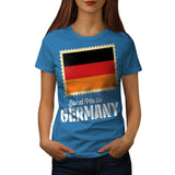 Classic Germany Flag Womens T-Shirt